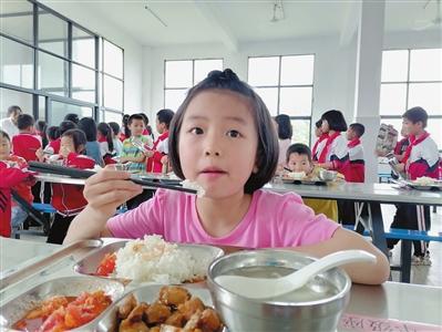 146名学生吃上热饭菜